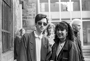 22. Johnny Marr and Friend, Edinburgh, Scotland, Meat Is Murder, 1985